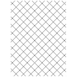 Wire Fence Embossing Folder Darice