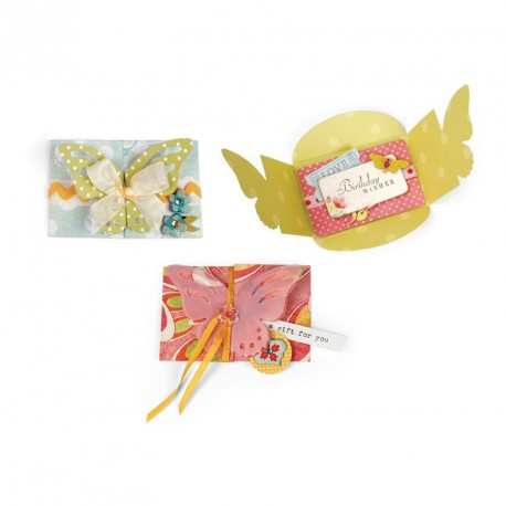 Butterfly Card Bigz Extra Long Die Sizzix