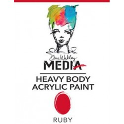 Ruby Media Heavy Body Acrylic Paints Dina Wakley