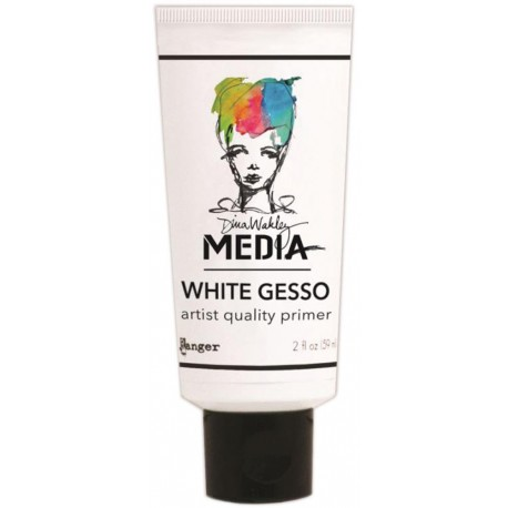 White Gesso Media Dina Wakley