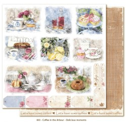 "Delicoius Moments 12""x12"" Coffee in the Arbour Maja Design"