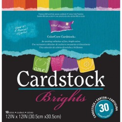 "Brights Collection Core'dinations Core Essentials Cardstock Pad 12""x12"""