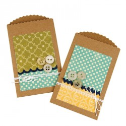 Pocket with Scallop Edge Sizzix Bigz Die