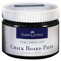 Chalkboard Paint Jar 100ml Faber Castell