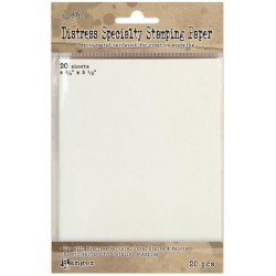 "Distress Specialty Stamping Paper 4,25""x5,5"" 20 Sheets"