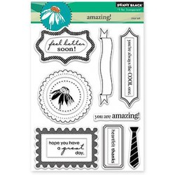 "Amazing! Clear Stamps 5""x6,5"" Penny Black"