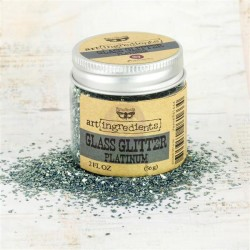 Platinum Art Ingredients Glass Glitter 2 oz Prima Marketing