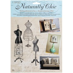 Dressmaker Forms Wrights Naturally Chic Iron-On Transfers
