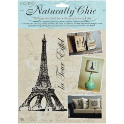 La Tour Eiffel Wrights Naturally Chic Iron-On Transfers