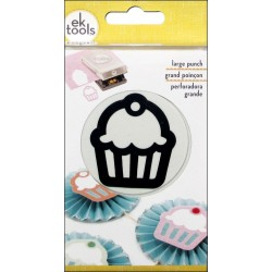 "Cupcake 1,75""x2"" Large Punch Ek Success"