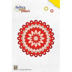 Dots Circle Frame Dies Multi Nellie Snellen