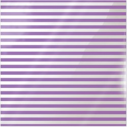 "Neon Purple Stripe Clearly Bold Acetate Sheets 12"" x 12"""