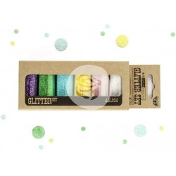 Abloom Art Extravagance Glitter Set 6 Pkg by Finnabair Prima Marketing