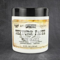 White Crackle Texture Paste Extravagance Prima Marketing