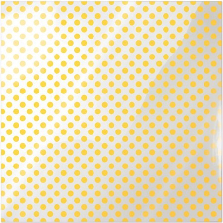 """Neon Yellow Dot Clearly Bold Acetate Sheets 12"""" x 12"""""""