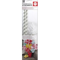 Gray Pinwheel Attachments We'R Memory Keepers