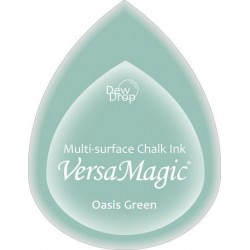 Oasis Green Versamagic Dewdrops Chalk Ink