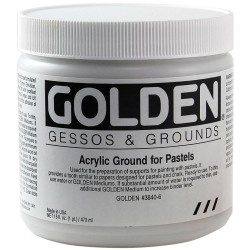 Ground For Pastel 8 oz Golden Acrylic