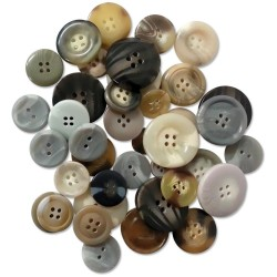 Shells Button Embellishment Fashion Dyed Buttons 60 g