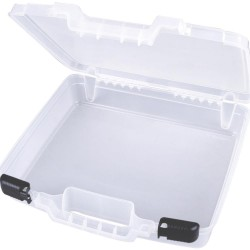 "Translucent 15""x14,375""x3,25"" Quick View Deep Base Carrying Case ArtBin"