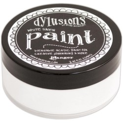 White Linen Dylusions Paint Dyan Reaveley