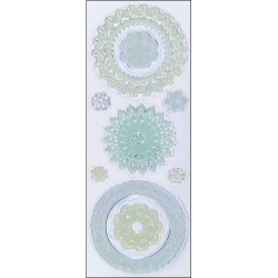 Doilies Clear Stamps Martha Stewart
