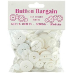 Whites Button Bargain 4 oz