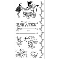 Precious Memories 2 Cling Mounted Stamps Hampton Art