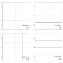 Small Variety Pack 5 Project Life Page Protectors 12 Pkg