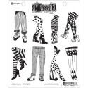 Legs Eleven Dyan Reaveley's Dylusions Cling Stamp
