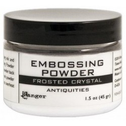 Frosted Crystal Antiquities Embossing Powder 1,5 oz Ranger