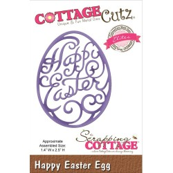 Happy Easter Egg CottageCutz