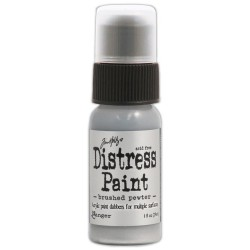 Brushed Pewter Distress Paint