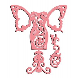 Fluttered Tulip Bodice Die by Little Darlings Spellbinders