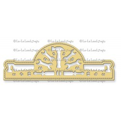 Tools Border Banner Die La-La Land Crafts