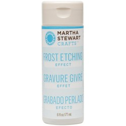 Frost Etching Effect 6 oz Martha Stewart