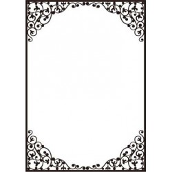 Dainty Frame Embossing Folder Crafts-Too