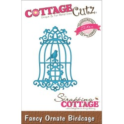 Fancy Ornate Birdcage CottageCutz