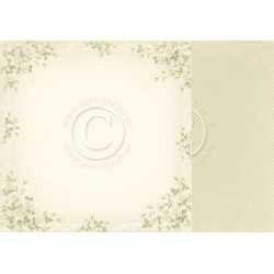 "Rose 12"" x 12"" Vintage Wedding Pion design"