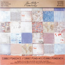 "Correspondence 12""x12"" Idea Ology by Tim Holtz"