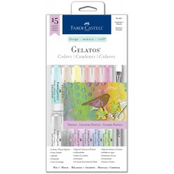 Pastels Gelatos Color Kit 15 Pkg