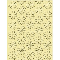 Spring Flowers Craft C. Embossing Folder