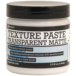 Texture Paste Transparent Matte 3,9oz Ranger
