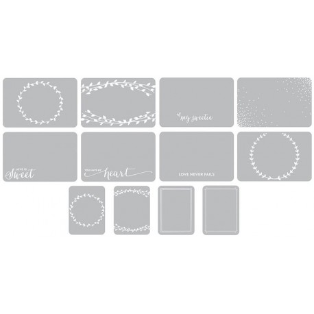 Southern Weddings Edition Photo Overlays Project Life 12 Pkg