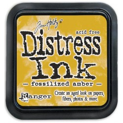 Fossilized Amber April Distress Ink Pad