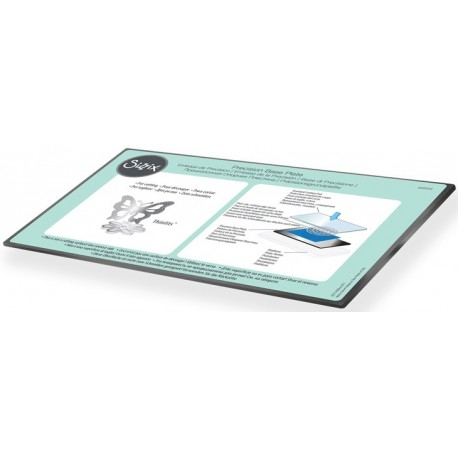 Precision Base Plate for Intricate Thinlits Dies Sizzix