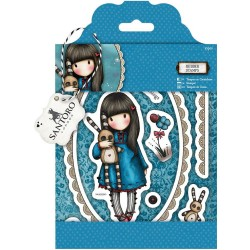 Hush Little Bunny Gorjuss Urban Rubber Stamps