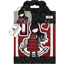 Getaway Gorjuss Urban Rubber Stamps