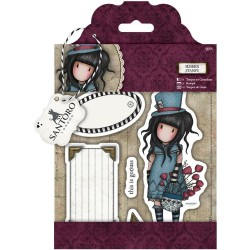 The Hatter Gorjuss Urban Rubber Stamps