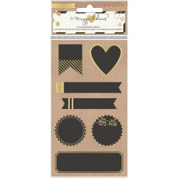 Confetti Chalkboard Labels 14 Pkg by Maggie Holmes Crate Paper